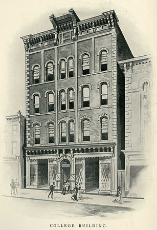 "The merger between the Steward Business College and the Rider - Moore Business College occurred in 1901, adopting the new name ""Rider-Moore & Stewart Schools.  The administrative offices were moved into the Dippolt Building, located at 10 South Broad Street, Trenton, N.J., which was formerly owned by Stewart Business College."