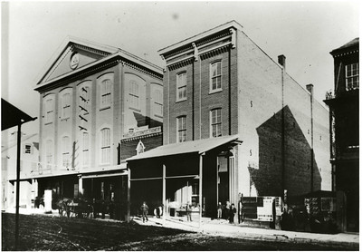 Rider University's origins can be traced back to October 2, 1865, when the Trenton Business College and Practical Training School opened and rented one room in Temperance Hall in Trenton, N.J.