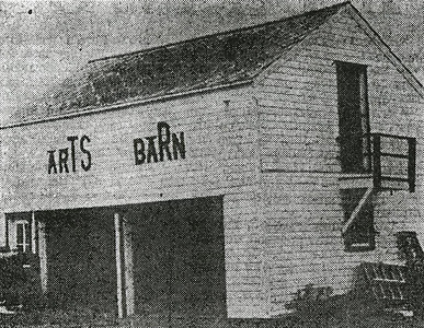 Image of the Arts Barn on the Lawrenceville campus.