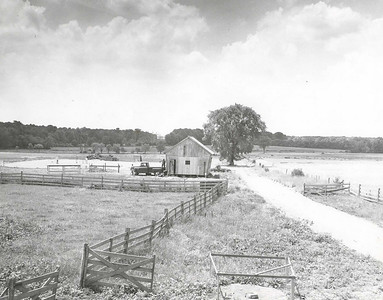 Another view of the 139 acre farm in Lawrenceville, N.J. that was to become the new site for Rider College.