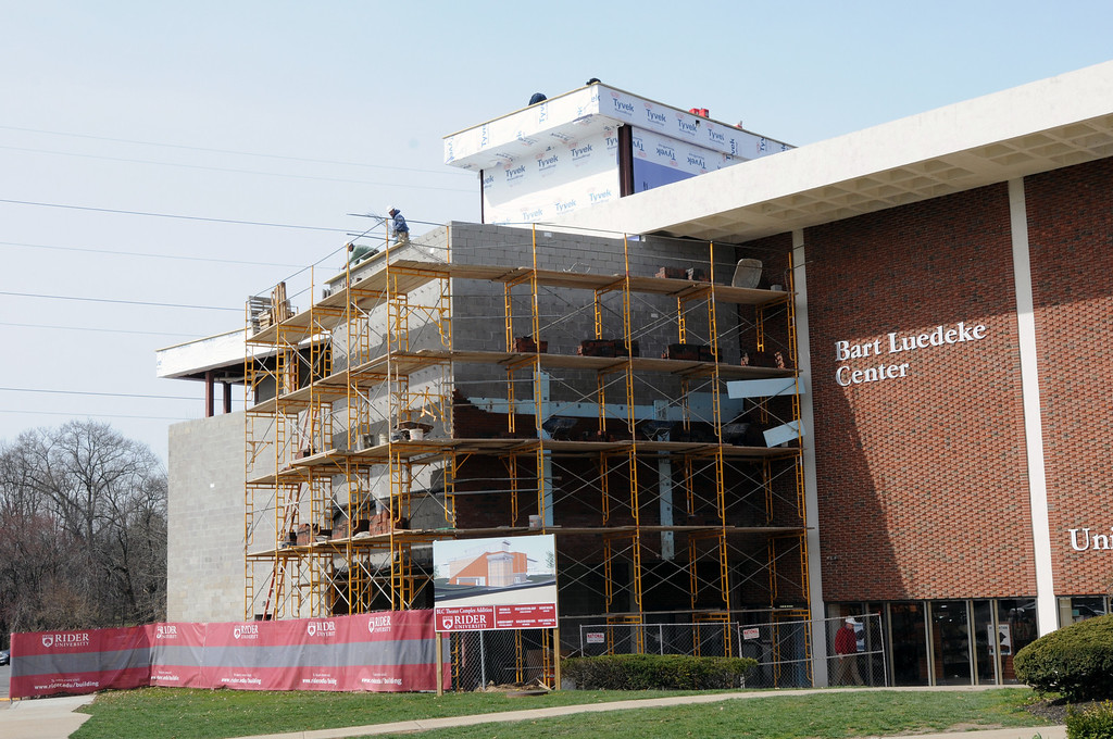 03/31/2011 - Bart Luedeke Center Theater Expansion Project.
