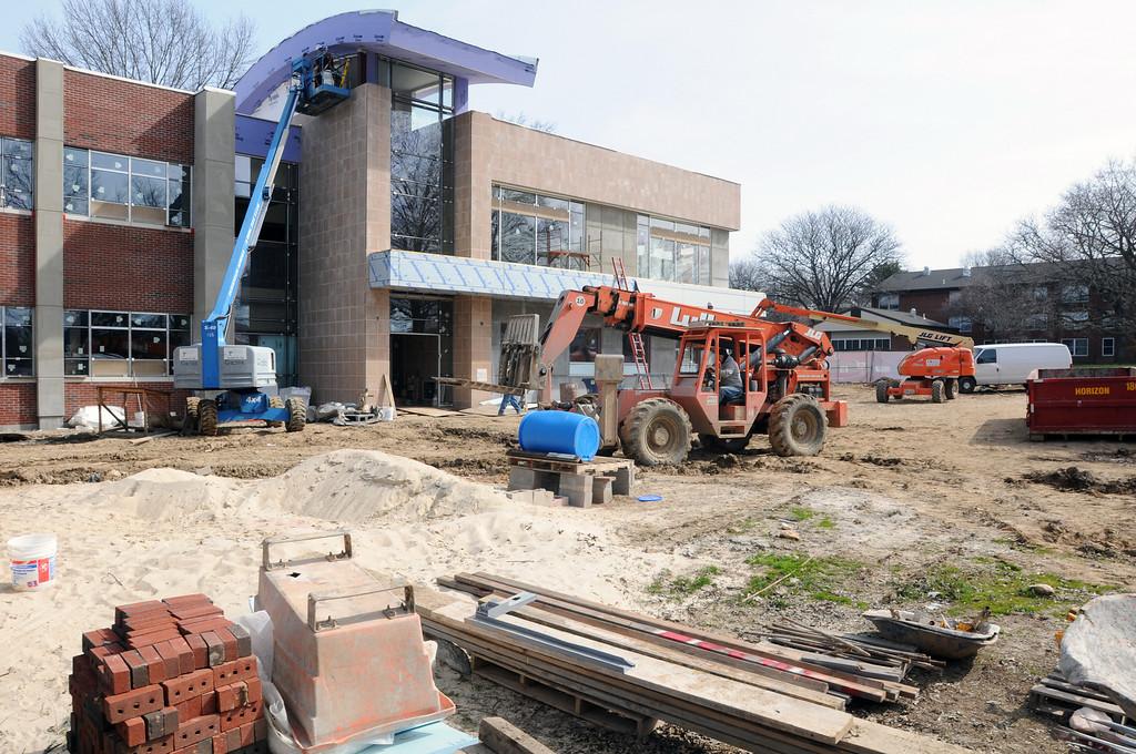 03-30-2011 -- New Academic Building construction