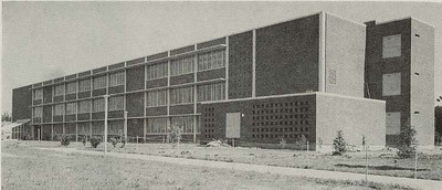 Construction is completed on Science Hall by 1965.