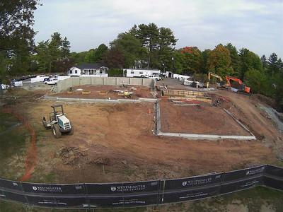 Marion Buckelew Cullen Center Construction October 3, 2013